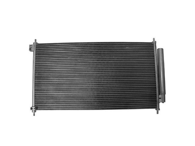 Fits 2012-2014 Acura ILX & 2012-2013 Honda Civic 4-Door Sedan Air Condition A/C Cooling Parallel Flow AC Condenser Assembly (12 13 14)