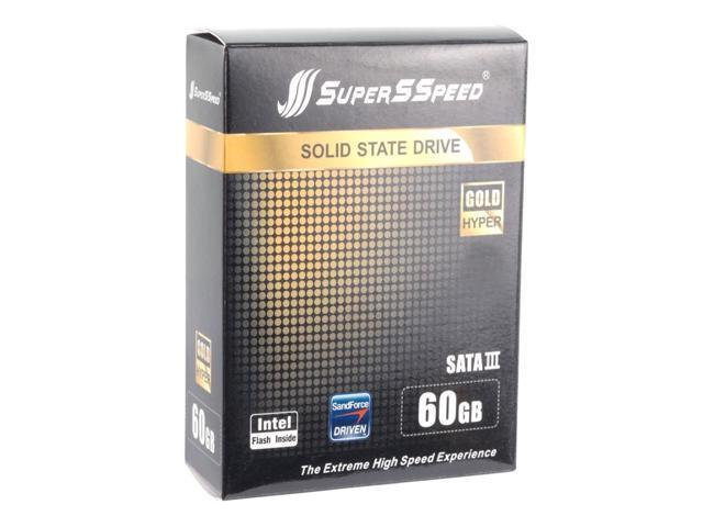Supersspeed S306 2.5 Inch 60GB SATAIII MLC Internal Solid State Drive (SSD)