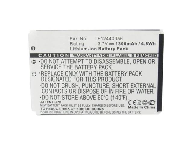 Replacement 1300mAh Extended L-LU18 Battery for Logitech Harmony 915, 1000, 1100 & 1100i Remotes 190582-0000 F12440056