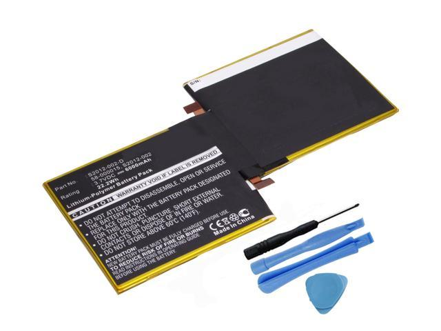 Replacement 6000mAh S2012-002 58-000015 Battery for Amazon Kindle Fire HD 8.9