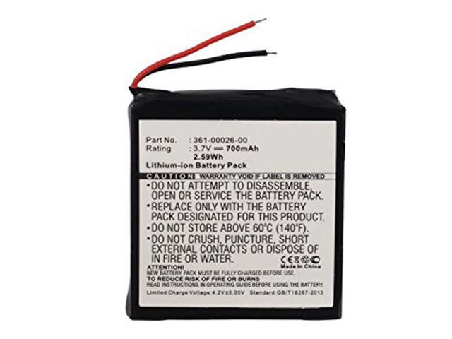 700mAh 361-00026-00 Battery Replacement for Garmin Forerunner 205, Forerunner 305 GPS Receiver Sport Watch