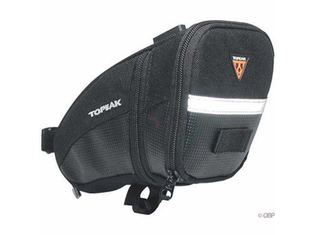 Topeak Aero Wedge Seat Bag LG Large Bike Saddle Bag Fixie Road MTB
