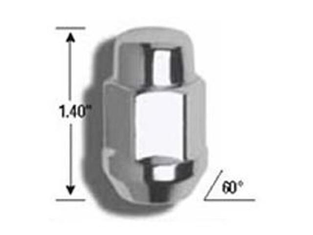 Gorilla Lug Nuts - Bagged Sets 41137B Lug Nuts