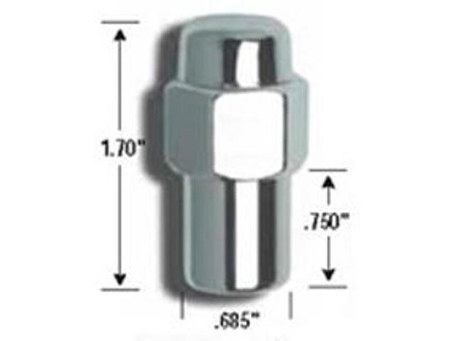 Gorilla Lug Nuts - Bagged Sets 73187CRB Lug Nuts