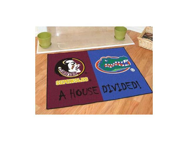 Fanmats 06004 Seminoles - Florida All-Star House Divided Rug