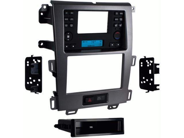 """Metra 99-5829CH 4.3"""" Screen Din/2-Din Dash Kit for 2011-up Ford Edge - Charcoal"""