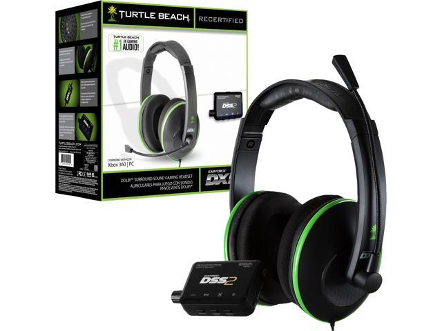 Turtle Beach Ear Force Xc Black Green Xbox  Headset