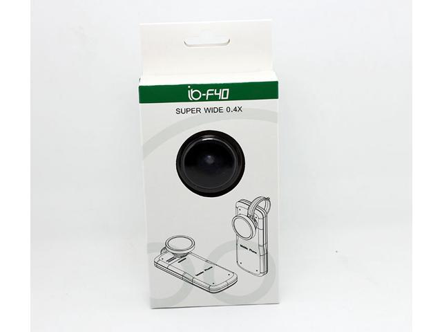 F40 Universal 0.4x Super Wide Angle Conversion Optical Lens For iPhone HTC Samsung Cell phone
