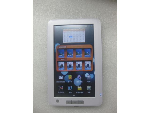 E-book Reader 7'' TFT Touch Screen with 4GB Built-in + Micro SD/TF Card Extension Multi-function Ebook Reader MP3 MP4 Phote ...