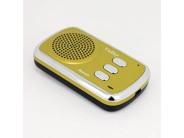 Valley Bluetooth Hands Free Multipoint Speakerphone Bluetooth Car Speakerphone Car Kit Speaker Phone