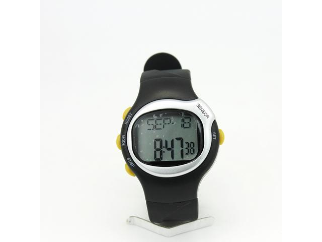 Calorie Watch 0401 Sport Pluse Heart Rate Monitor Watch with Daily Alarm/Keytone/Chronograph for Fitness