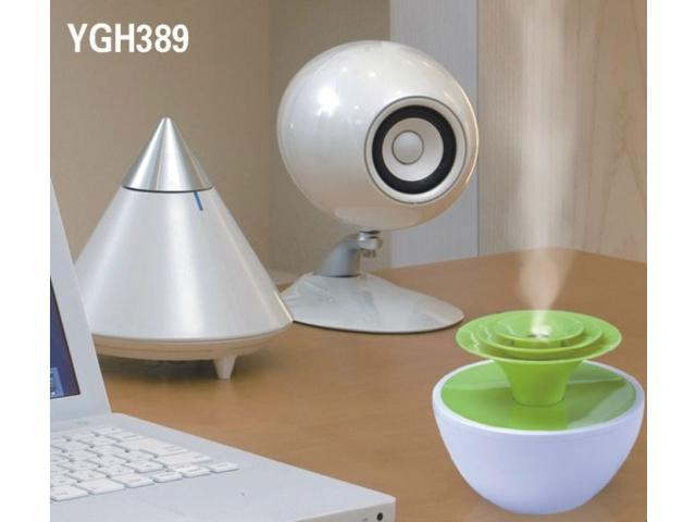 Mini USB Humidifier YGH389 Greenhouse Humidifier for office or home use Mini Ultrasonic Aroma Diffuser Air Refresher Humidifier ...