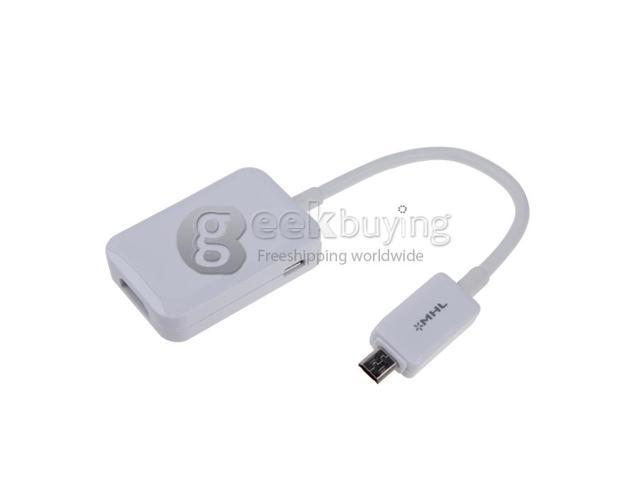 Geek Buying Brand New MHL Micro USB to HDMI Cable HDTV Adapter for Samsung Galaxy Note3 NoteIII S4 S IV I9500