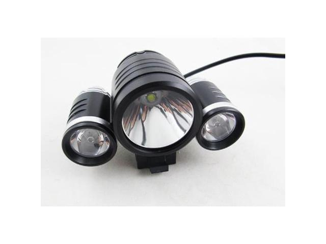 CREE XM-L T6 LED +2x XPE R2 LED Bike Bicycle Light 8.4V Rechargeable T6 LED 2400 Lumen Bike Light / Bike Bicycle Light HeadLight headLamp with improved battery and charger