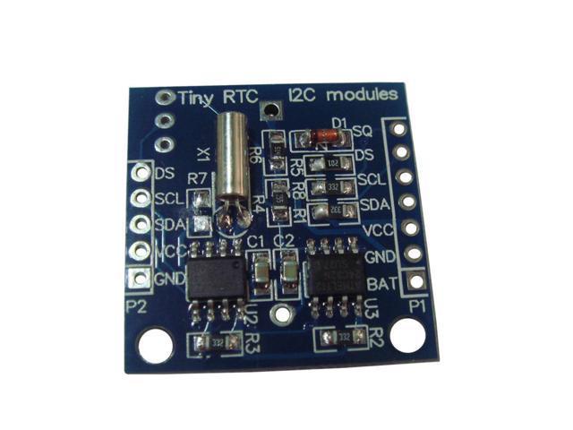 DS1307 RTC tutorial - ladyadanet