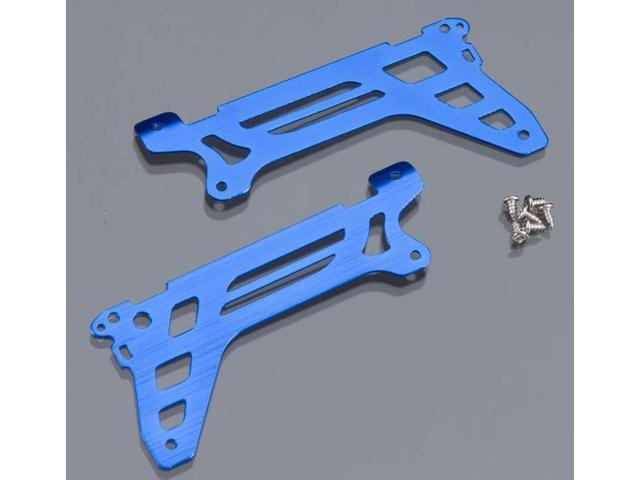Traxxas 6328 Main Frame/Side Plate/Outer Blue DR-1 (2)