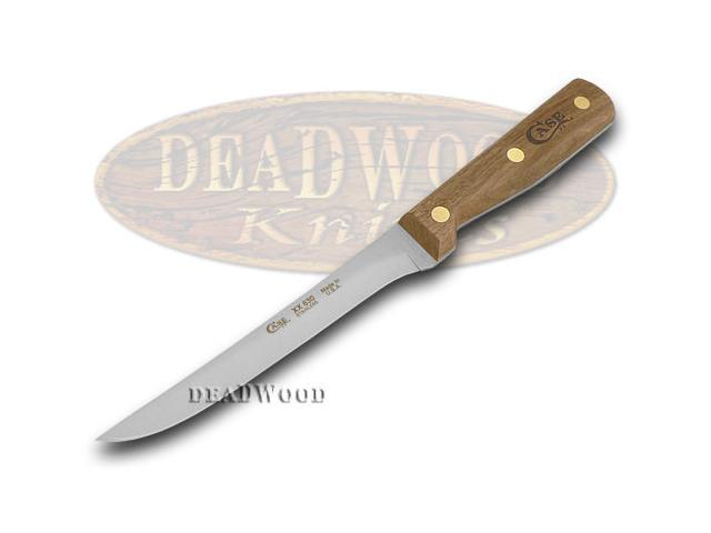 case xx household cutlery kitchen walnut wood boning knife