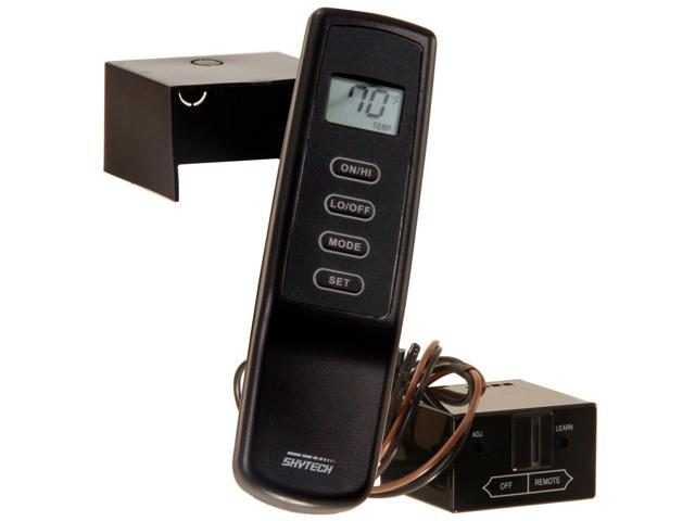 Skytech Mrck Th Sr 1001 Th Fireplace Remote Control With Flame Adjustment And Thermostat For