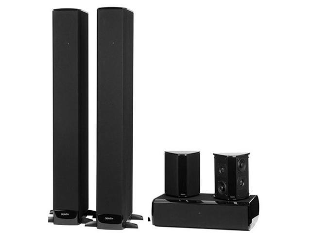 Definitive Technology BP-8060 SuperTower Home Theater Bundle with Built-In Powered Subwoofers (Gloss Black)
