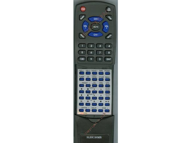 TEAC Replacement Remote Control for CARTAGV8500, AGV8525, UR410S