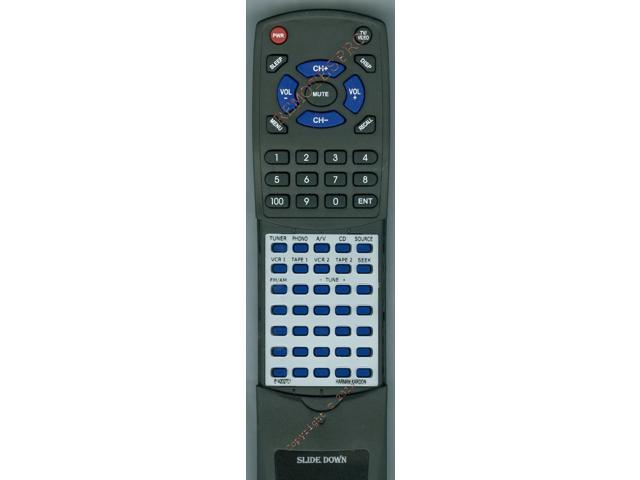 HARMAN KARDON Replacement Remote Control for 614202701, HK880VXI, HK990VXI