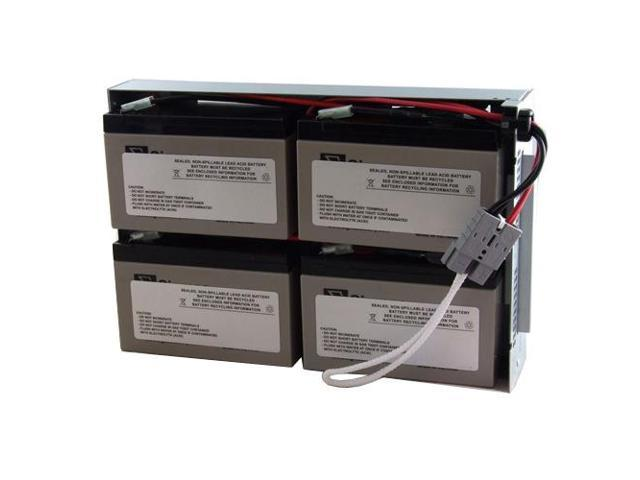 SLA Battery for APC SU1000RM2U Powerwarehouse replacement RBC23 Catridge #23 Maintenance-Free Lead Acid Battery
