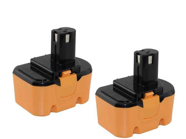 Ryobi 1400671 Battery 14.4 Volt 2000mAh NiCad - Powerwarehouse Professional Grade 2-Pack High Capacity Battery