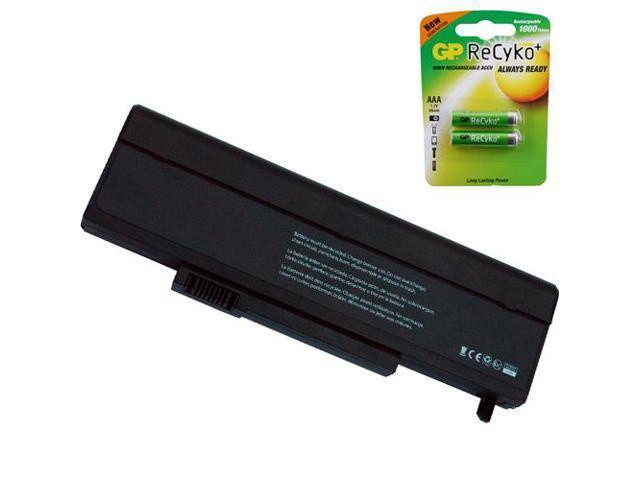 Gateway M-6320 Laptop Battery by Powerwarehouse - Premium Powerwarehouse Battery 9 Cell