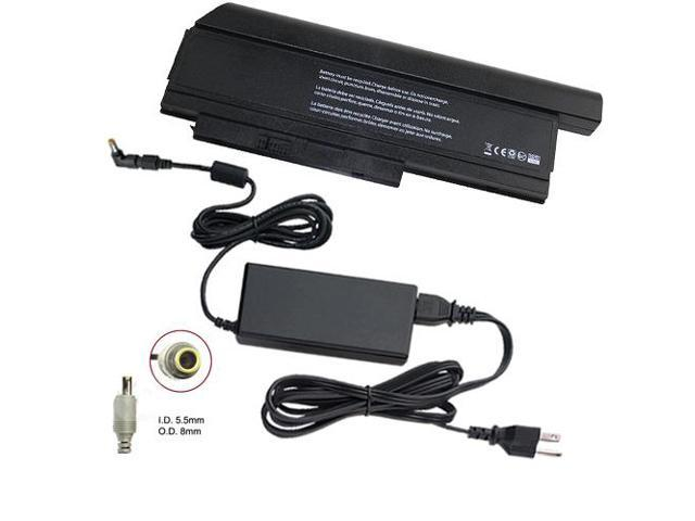 Lenovo Thinkpad X220 4287-AS5 Laptop Battery and 65 Watt Adapter - Premium Powerwarehouse 9 Cell Battery and 65 Watt Adapter Combo