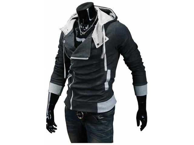 men boy assassin creed 1 2 3 4 hoody hoodied sweatshirt. Black Bedroom Furniture Sets. Home Design Ideas
