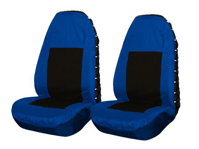 Blue And Black Car Seat Covers 2 PCS Set Oxford Newegg