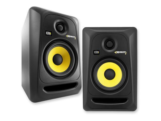 krk rp6g3 na rokit 6 generation 3 powered studio monitor pair. Black Bedroom Furniture Sets. Home Design Ideas