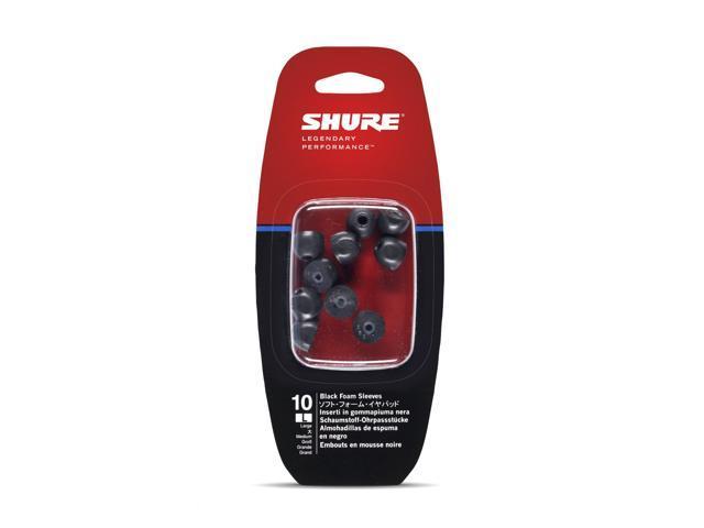 Shure EABKF1-10L Large Foam Sleeves