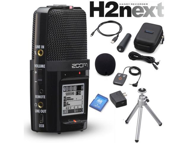 Zoom H2N Handy Recorder Digital Audio Handheld Musicians Recording Device + Zoom ZH2NAP APH-2N Accessory Package for H2N ...