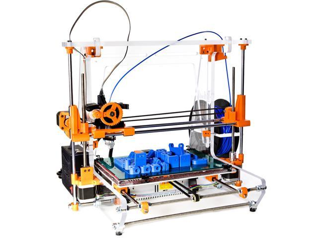 3D Printer Model AW3D XL Assembled and Calibrated Print in 11 different materials