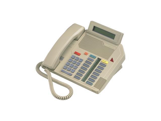 Aastra - M5316 Black - Nortel Meridian Digital Phone W/display & 13 Feature Keys A1604-0000-02-07 Blk