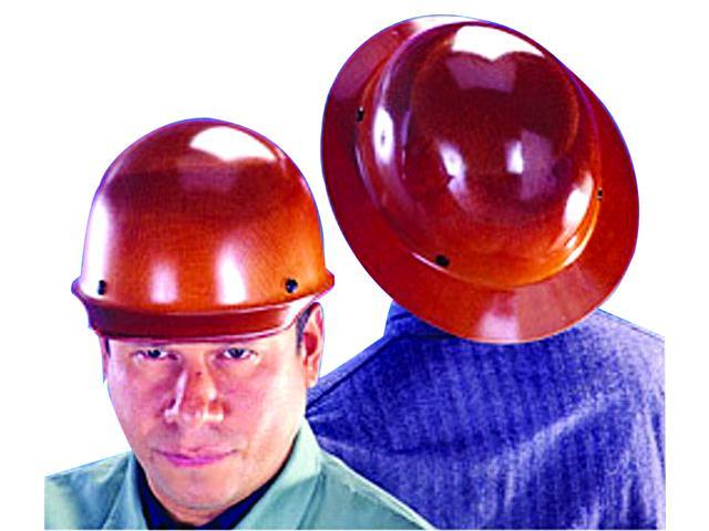 Msa 460389 Hard Hat W Lamp Bracket And Cord Holder