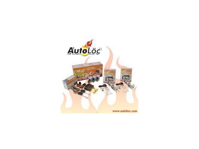 Autoloc - SVPRO3 - 8 Channel 35lbs Remote Shaved Door Kit