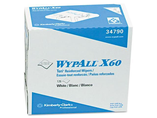 Kimberly-Clark Wypall X60 Teri Reinforced Wipe 126 / Box - 9