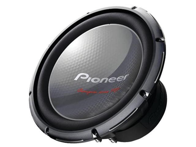 "Pioneer Champion Series PRO TS-W3003D4 12"" subwoofer with dual 4-ohm voice coils"