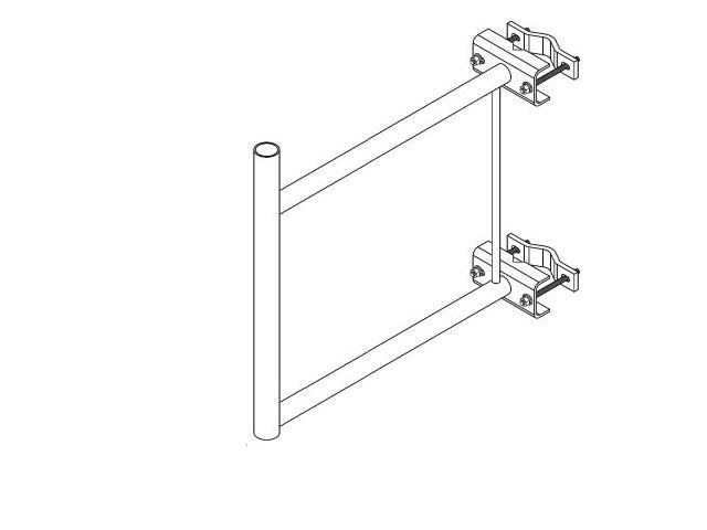 Ventev - WS-S200 - Stand-Off Bracket, 2 Foot (1-7/8x24)