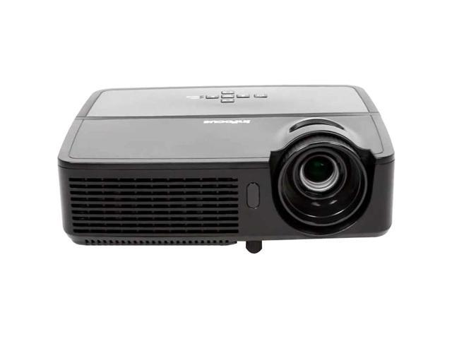 InFocus - IN124A - InFocus IN124a 3D Ready DLP Projector - 720p - HDTV - 4:3 - 240 W - SECAM, NTSC, PAL - 3500 Hour