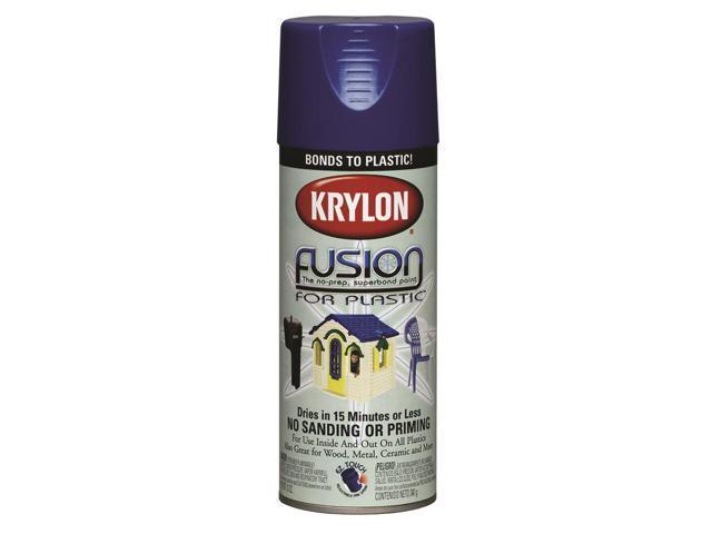 fusion for plastic spray paint krylon spray paint 2326 navy. Black Bedroom Furniture Sets. Home Design Ideas