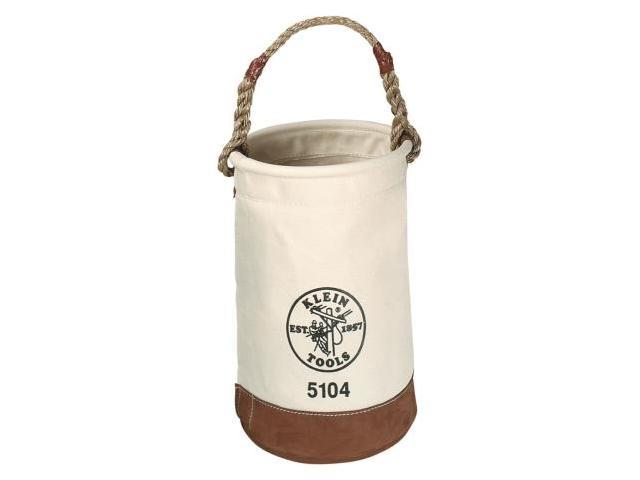 Bucket, #1 Canvas, Leather-Bottom