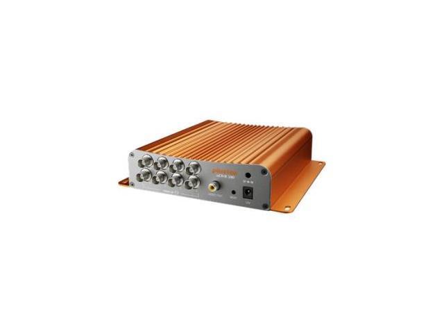 Plustek Technology - DR580N-EK1-00HD-000 - Plustek nDVR 580 Barebone - Network Video Recorder - H.264, Motion JPEG