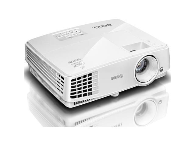 BenQ MX570 XGA 1024 x 768, 3200 ANSI Lumens, 13,000:1 Contrast ratio, HDMI and Analog connectivity, Up to 10,000 hours lamp life, LAN control, DLP Data Projector.