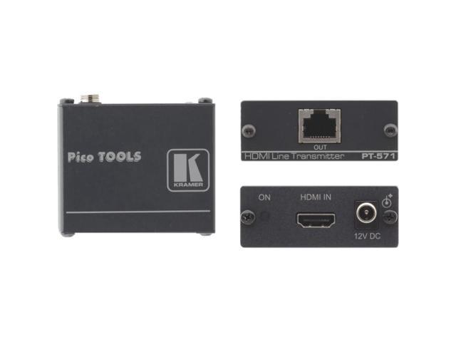Kramer Electronics - PT-571 - Kramer Video Extender - 1 Input Device - 1 Output Device - 295.28 ft Range - 1 x Network