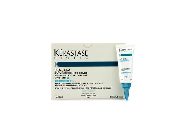 Kerastase Biotic Bio-Calm Hydrating Cleanser for Dry Scalps 15x20ml