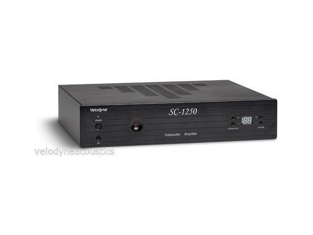 Velodyne SC-1250 Amplifier + Two SC-8 Subwoofers