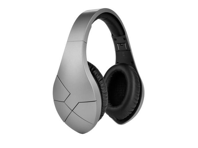 Velodyne vBold Over-Ear Wireless Bluetooth Headphones - Satin Silver